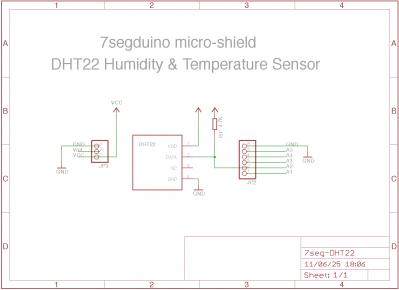 7segduino 湿度計 回路図