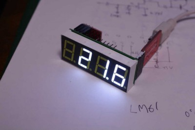LM61 thermo sensor