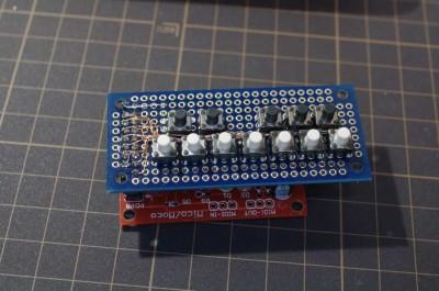 moco2を使ったミニキーボード