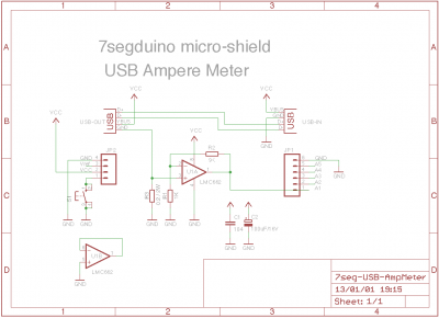 7seg-USB-AmpMeter schematic