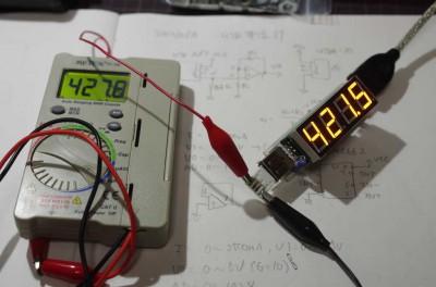 7seg-USB-AmpMeter cal