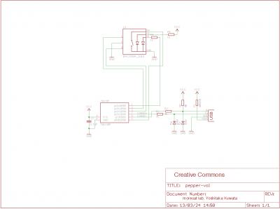 USB-HID Volume Controller V2.0 Schematic
