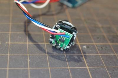 Encoder PCB Close-up