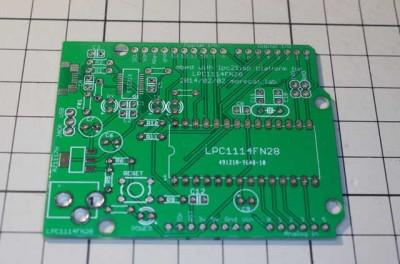 LPCduino board