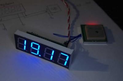 Simple GPS Clock
