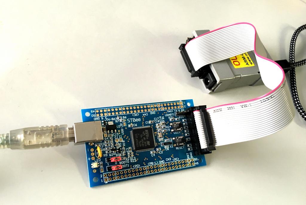 Morecat lab arduino stm を試す